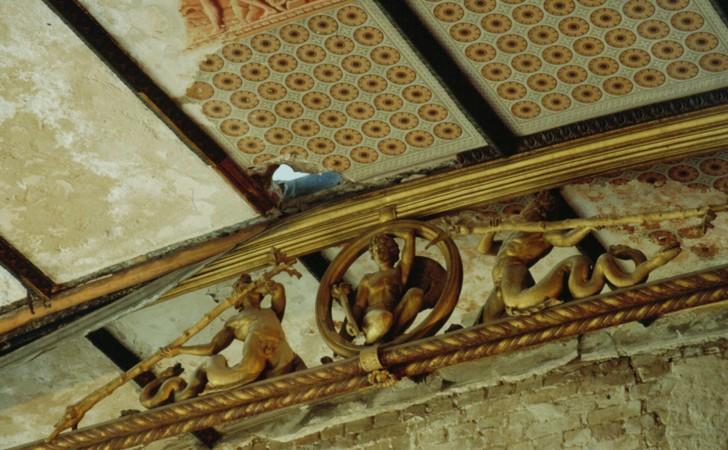 Bild 11, Neues Museum, Bogensehnenbinder Niobidensaal
